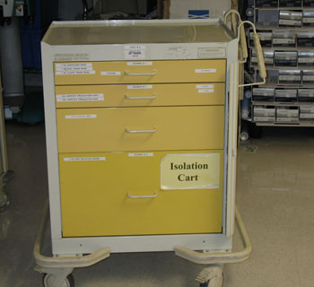 Isolation Gown Cart