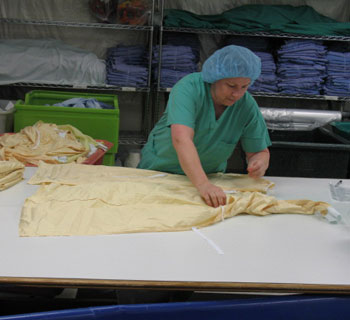 Gown Inspection - Folding