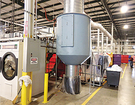 Dust Lint Control Moves Forward American Laundry News